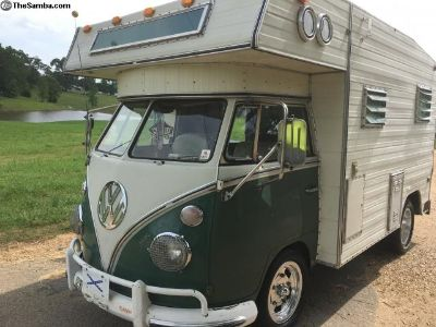 1966 rv camper westy westfalia split bus