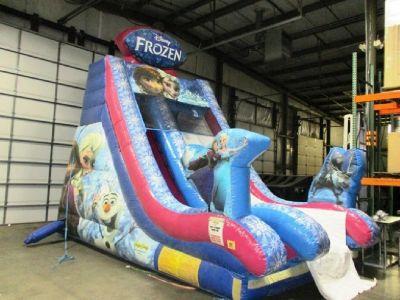 Ninja Jump Frozen Inflatable Slide RTR#7063772-01