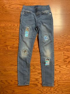 Justice girls jeans size 8