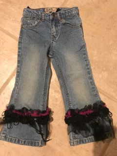 Girls sparkly jeans, 4T