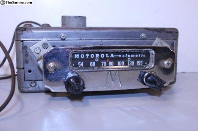 1950's Big M Motorola Radio 6V AM 5M