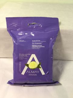 Almay Gentle oil free I make up remover wipes, 25 count