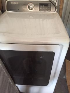 Samsung dryer LG washer