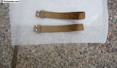 Pair of assist straps out of a 1952 split