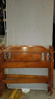 2 Twin (long) headboards , frames and mattress bases