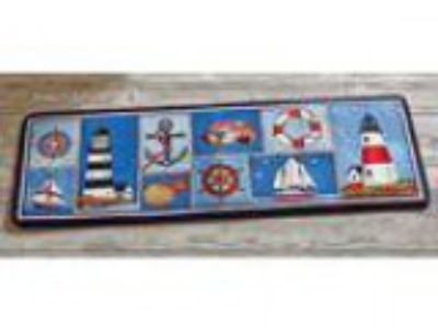 Collections Etc Nautical Bar Harbor Rug