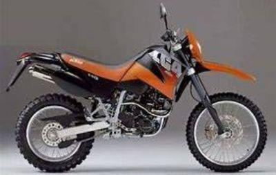 2001 KTM LC4 640 ENDURO Motor Bikes Ennis, TX