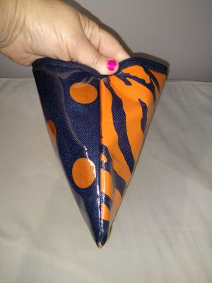Make-up bag in Auburn colors