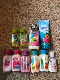 Bath and body work lot