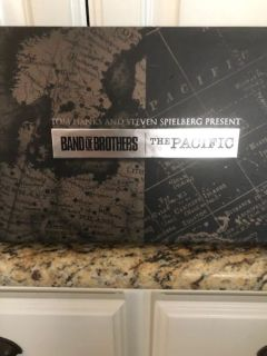 BAND OF BROTHERS & THE PACIFIC DVD GIFT SET - GREAT FATHER'S DAY GIFT!