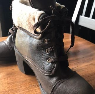 Essence 34A Combat Inspired Boots