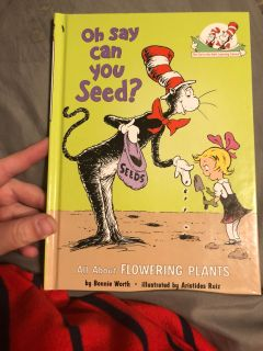 Cat in The Hat- Oh Say Can You Seed?