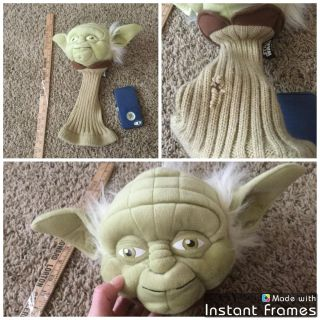 Disney Star Wars Yoda Golf Club Cover, retail is $29.99 at Dick s Sporting Goods, has a rip on lower part but easily sewn if your handy, $5.