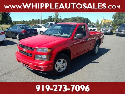 2007 Chevrolet Colorado Work Truck (Red)