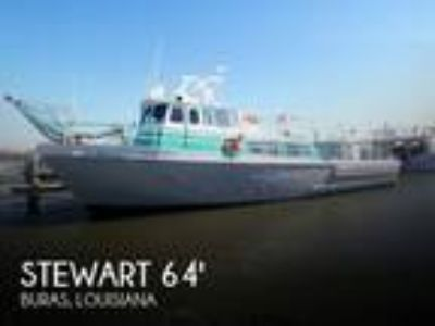 Stewart Seacraft - 64 Crew Boat with 2013 engines