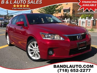 2012 Lexus CT 200h Base (Matador Red Mica)