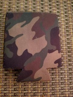 FOR THE HUNTER :NEW BEER CAN CAMO KOOZIE