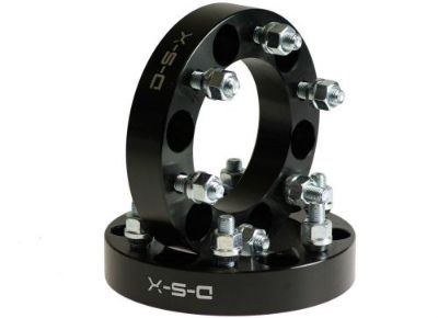 """Buy GMC Hummer Toyota Lexus 1"""" WHEEL SPACERS 6x5.5 PAIR / 12x1.5 STUDS / BLACK - NEW motorcycle in Watertown, Massachusetts, United States, for US $44.90"""