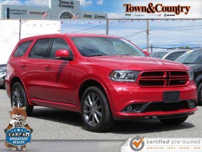 2017 Dodge Durango Crew (Octane Red Pearlcoat)