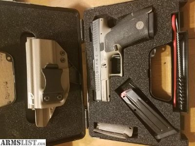For Sale: CZ P10C W/ Holster & Grip