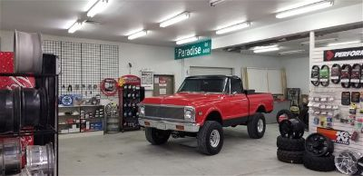 1972 Chevrolet 4X4 Short Bed Truck