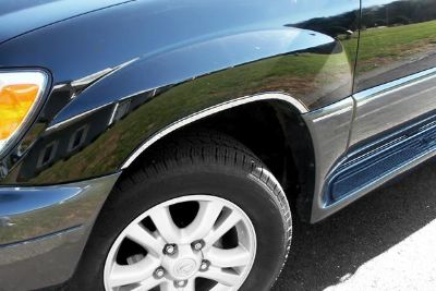 Find SAA WQ24120 04-07 Lexus LX Fender Trim Wheel Well Car Chrome Trim Polished 3M motorcycle in Westford, Massachusetts, US, for US $93.84