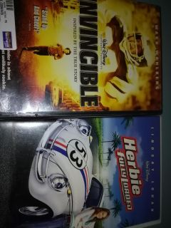 Dvds $2 each 3 pictures