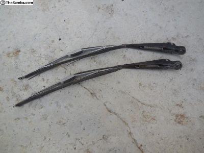 Porsche 356 Windshield Wiper Arms With Blades