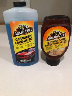 Armor All Car Wash Concentrate& Leather Care