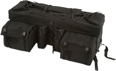 Purchase NEW BLACK ATV LUGGAGE REAR RACK BAG-STORAGE CARGO GEAR PACK (ATV-RBG-9030-BK) motorcycle in West Bend, Wisconsin, US, for US $81.74