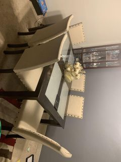 Dining room set and a free tablet( Price Negotiability)