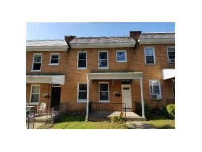 3 Bed 1 Bath Foreclosure Property in Baltimore, MD 21206 - Shamrock Ave