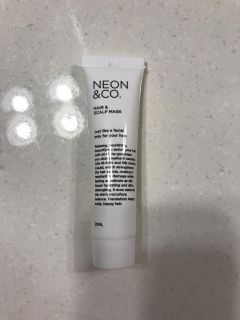 Unopened hair and scalp mask
