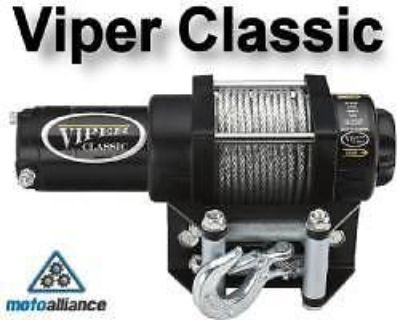 Purchase VIPER CLASSIC 3000lb ATV Winch by Motoalliance motorcycle in Rogers, Minnesota, United States