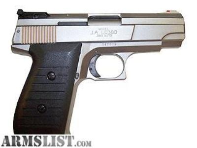 For Sale: Jimenez LC380 Duotone .380 semi auto pistol excellent condition with ammoo
