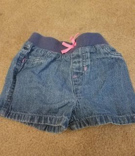 24M, JUMPING BEANS, JEAN SHORTS, EXCELLENT CONDITION, SMOKE FREE HOUSE
