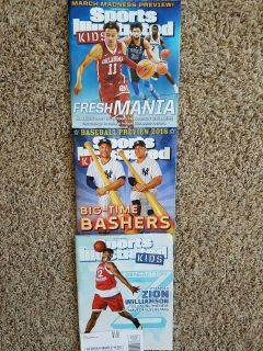 Sports Illustrated Kids Magazine Issues March~April~May 2018 NEW