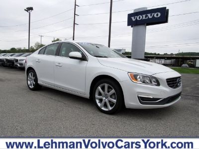 2016 Volvo S60 (Crystal White Pearl)