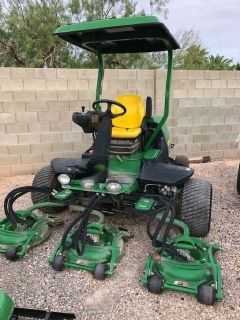 2014 John Deere 8800 TerrainCut Rough Mower RTR# 9071411-02
