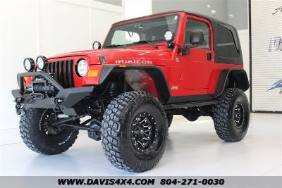 2006 Jeep Wrangler Rubicon (Red)