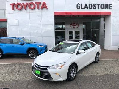2017 Toyota Camry L (Blizzard Pearl)