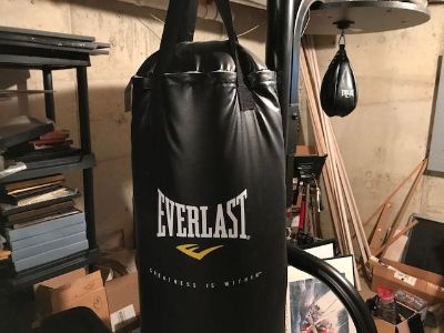 Everlast heavy/speed bag w/stand