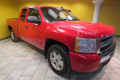 2010 Chevrolet Silverado 1500 LT (Victory Red)