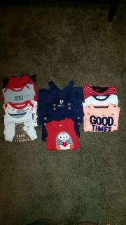 Size 3-6 month winter lot