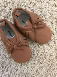 Adorable 6-12 month moccasins