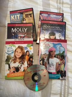 Lot of 7 AMERICAN GIRL DVD s