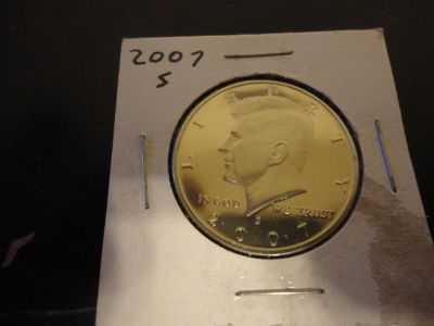 2007 s kennedy half dollar brilliant uncirculated cameo proof interested text 931 218 8243