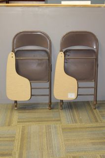 Folding Student Chairs
