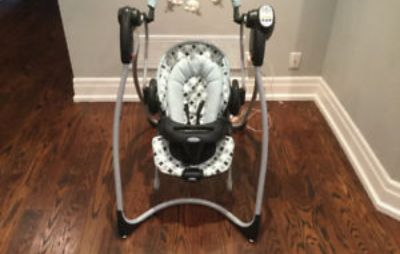 Graco duo swing and bouncer