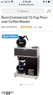 Bunn Commercial Coffee Maker